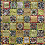 Blankets handmade. Livemaster - original item Patchwork plaid