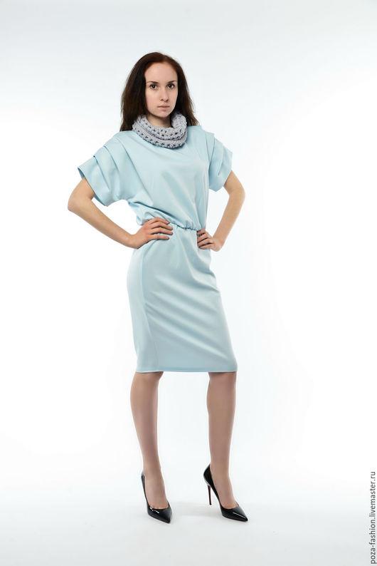 Платья ручной работы. Ярмарка Мастеров - ручная работа. Купить Платье спортивный силуэт (3 цвета на выбор). Handmade. Комбинированный
