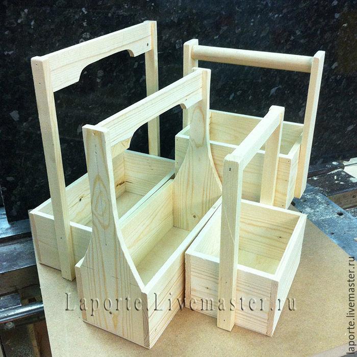 ящик для цветов 3 деревянный заготовка купить на ярмарке мастеров 8dm77ru упаковка москва