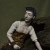 """Куклы и игрушки ручной работы. Ярмарка Мастеров - ручная работа шарнирная кукла """"Пустельга"""". Handmade."""