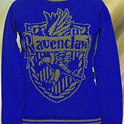 """Одежда ручной работы. Ярмарка Мастеров - ручная работа Тату-свитер - Факультет """"Ravenclaw""""(по мотивам к/ф о Гарри Поттере). Handmade."""