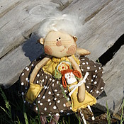 Куклы и игрушки ручной работы. Ярмарка Мастеров - ручная работа Кукла  Марфуша.. Handmade.