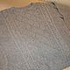 Кофты и свитера ручной работы. Заказать Серый пуловер с рельефным рисунком. Мария Сухорукова (suhma). Ярмарка Мастеров. Ручная работа