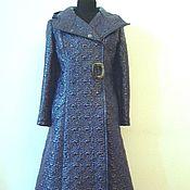 Одежда ручной работы. Ярмарка Мастеров - ручная работа Пальто стёганое длинное.. Handmade.