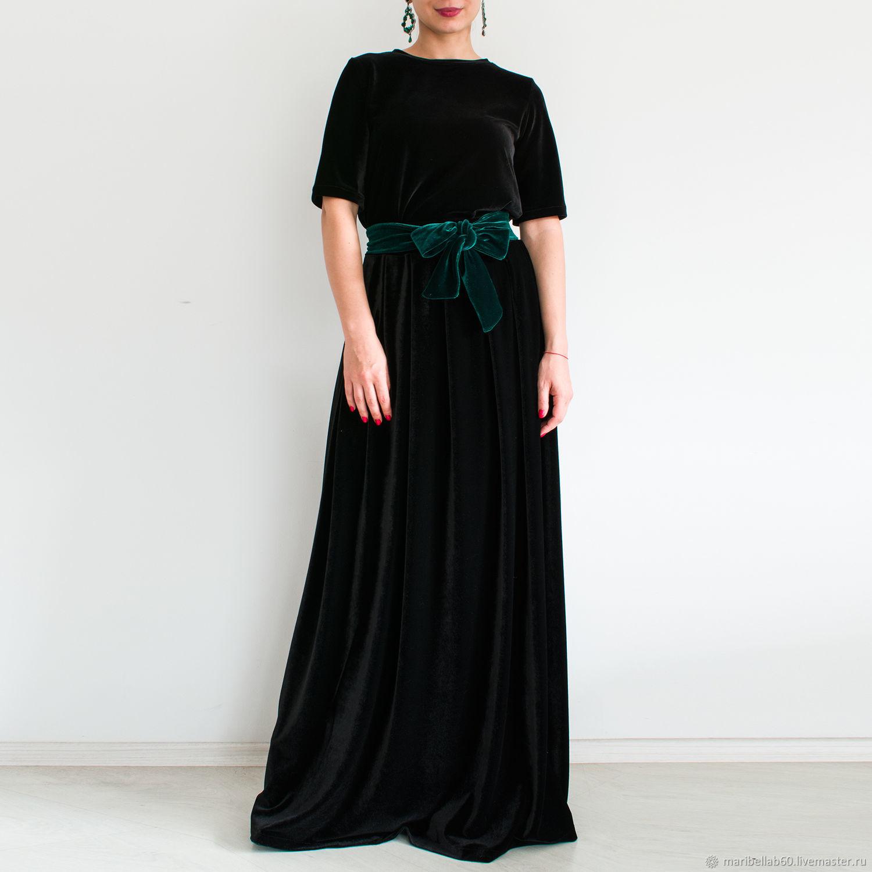9f33844367e9d Skirts handmade. Livemaster - handmade. Buy Black skirt Long skirt Warm skirt  Women s skirt ...