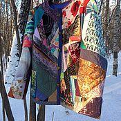 Куртки ручной работы. Ярмарка Мастеров - ручная работа Женская куртка в стиле Пэчворк Веселая. Handmade.