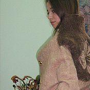"""Одежда ручной работы. Ярмарка Мастеров - ручная работа Валяное пальтo """"Уют"""". Handmade."""