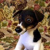 Подарки к праздникам ручной работы. Ярмарка Мастеров - ручная работа Собака Джек Рассел. Handmade.