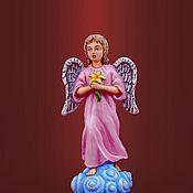 Подарки к праздникам ручной работы. Ярмарка Мастеров - ручная работа Ангел-малыш. Handmade.