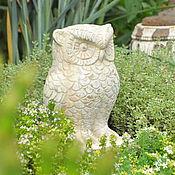 Для дома и интерьера handmade. Livemaster - original item Owl figurine in the style of Provence, decoration for flower beds garden owl. Handmade.