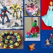 Подарки к праздникам ручной работы. Ярмарка Мастеров - ручная работа Фигурки из мастики на торт. Handmade.