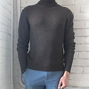 Мужская одежда handmade. Livemaster - original item Men`s cashmere sweater. Handmade.