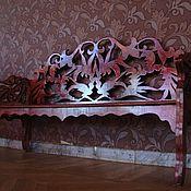 Для дома и интерьера ручной работы. Ярмарка Мастеров - ручная работа Скамейка парковая из мореного дерева. Handmade.