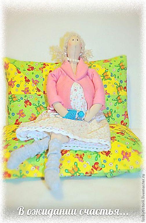 """Куклы Тильды ручной работы. Ярмарка Мастеров - ручная работа. Купить Тильда """"В ожидании чуда..."""". Handmade. Кукла"""