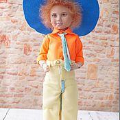 Шарнирная кукла ручной работы. Ярмарка Мастеров - ручная работа Шарнирная кукла Незнайка. Handmade.