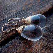 Украшения handmade. Livemaster - original item Large drop earrings