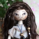 Коллекционные куклы ручной работы. Ярмарка Мастеров - ручная работа. Купить маленькая Найра. текстильная кукла. Handmade. Коричневый