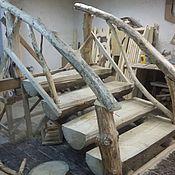 Для дома и интерьера ручной работы. Ярмарка Мастеров - ручная работа Лестница в дом. Handmade.