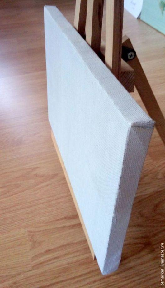 Другие виды рукоделия ручной работы. Ярмарка Мастеров - ручная работа. Купить Холст на подрамнике 20/30. Handmade. Белый