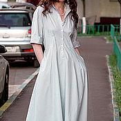 Одежда handmade. Livemaster - original item Dress - shirt made of cotton