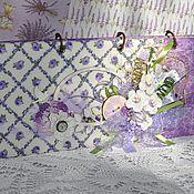 """Канцелярские товары ручной работы. Ярмарка Мастеров - ручная работа Планинг """"Время Прованса"""". Handmade."""