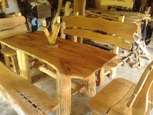 Мебель ручной работы. Ярмарка Мастеров - ручная работа. Купить Набор мебели из дуба.. Handmade. Ручная работа, набор