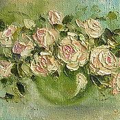 """Картины и панно ручной работы. Ярмарка Мастеров - ручная работа Картина """"Розы"""" 30 х 40 см.. Handmade."""