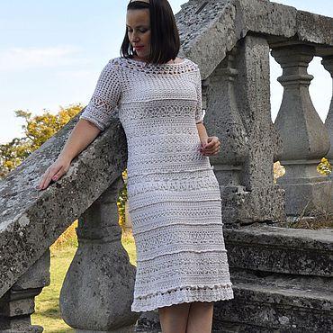 Clothing handmade. Livemaster - original item silk dress. Handmade.