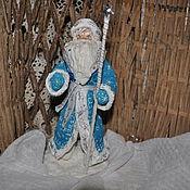 Подарки к праздникам ручной работы. Ярмарка Мастеров - ручная работа Дед Мороз из ваты. Handmade.