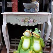 """Для дома и интерьера ручной работы. Ярмарка Мастеров - ручная работа Будуарный столик """" Розы """". Handmade."""