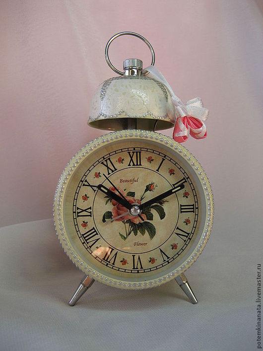 """Часы для дома ручной работы. Ярмарка Мастеров - ручная работа. Купить Будильник """"Балерины"""". Handmade. Будильник, оригинальные подарки, пробуждение"""