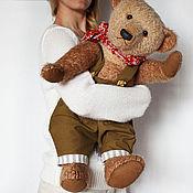 Куклы и игрушки ручной работы. Ярмарка Мастеров - ручная работа мишка Захарий 62 см. Handmade.