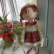 """Куклы и игрушки ручной работы. Ярмарка Мастеров - ручная работа """"Давай поиграем? """"  кукла из грунтованного текстиля. Handmade."""