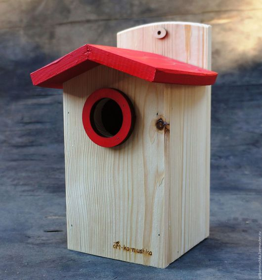 Скворечник для птиц - уютный дом для скворцов