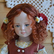 Куклы и пупсы ручной работы. Ярмарка Мастеров - ручная работа Коллекционная кукла Девочка с овечкой. Handmade.
