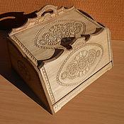 Для дома и интерьера ручной работы. Ярмарка Мастеров - ручная работа хлебница деревянная. Handmade.