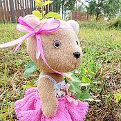 """Куклы и игрушки ручной работы. Ярмарка Мастеров - ручная работа Мишка - Тедди """"Розочка"""". Handmade."""