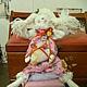 Куклы Тильды ручной работы. принцесса на горошине. Юлия. Интернет-магазин Ярмарка Мастеров. Розовый, тильда ангел, принцесса тильда