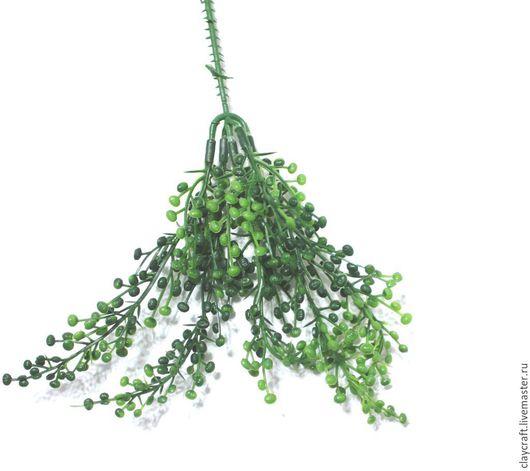 Материалы для флористики ручной работы. Ярмарка Мастеров - ручная работа. Купить Искуственная зелень самшит. Handmade. Зеленый, искусственная зелень