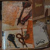 Канцелярские товары ручной работы. Ярмарка Мастеров - ручная работа Обложка на паспорт Письма в Париж. Handmade.
