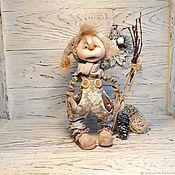Куклы и игрушки handmade. Livemaster - original item New year textile doll,interior