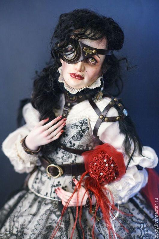 """Коллекционные куклы ручной работы. Ярмарка Мастеров - ручная работа. Купить Стимпанк  """" Джульетта """" Фарфоровая, коллекционная  кукла. Handmade."""