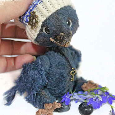 Куклы и игрушки ручной работы. Ярмарка Мастеров - ручная работа С мечтой о синей птице.... Handmade.