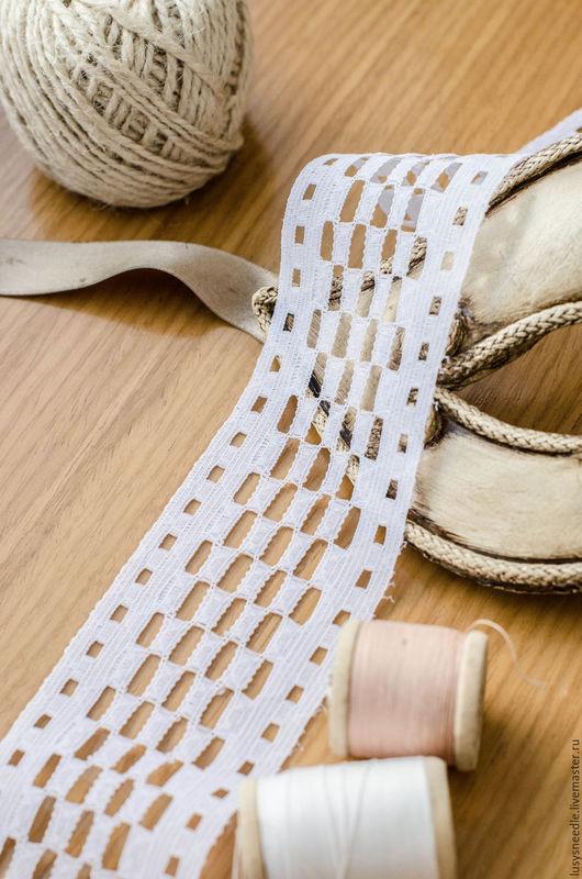 Шитье ручной работы. Ярмарка Мастеров - ручная работа. Купить Шитье №6. Handmade. Белое кружево, отделка для одежды, пэ