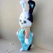 Куклы и игрушки handmade. Livemaster - original item Knitted toy Bunny Pashka. Handmade.