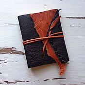 Канцелярские товары ручной работы. Ярмарка Мастеров - ручная работа Блокнот кожаный. Handmade.