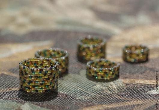 Кольца ручной работы. Ярмарка Мастеров - ручная работа. Купить Набор разноцветных колец на лето. Handmade. Набор из 5 колец