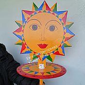 Народные сувениры ручной работы. Ярмарка Мастеров - ручная работа Карусель с лентами Масленица. Handmade.