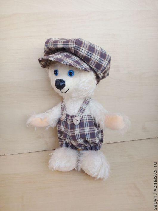 Мишки Тедди ручной работы. Ярмарка Мастеров - ручная работа. Купить Шерлок. Handmade. Белый, одежда для кукол, синтепон