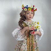 Куклы и игрушки handmade. Livemaster - original item Vasilisa. Handmade.